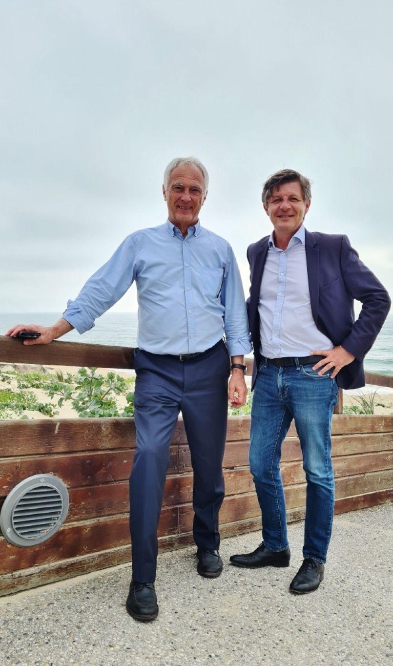 Départementales et Régionales 2021 : Nicolas Florian et Alain Dudon (LR) ont aussi foulé le sable
