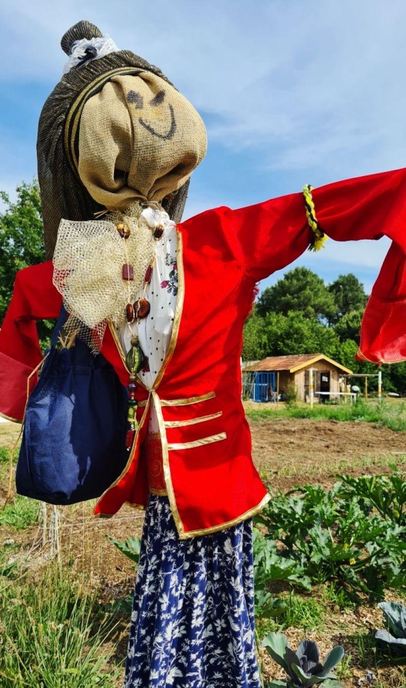 Voyage sonore au cœur de la Ferme du Hibou à Biscarrosse, lors de la 'Faites de l'AMAP' organisée par les Jardins du Canal.