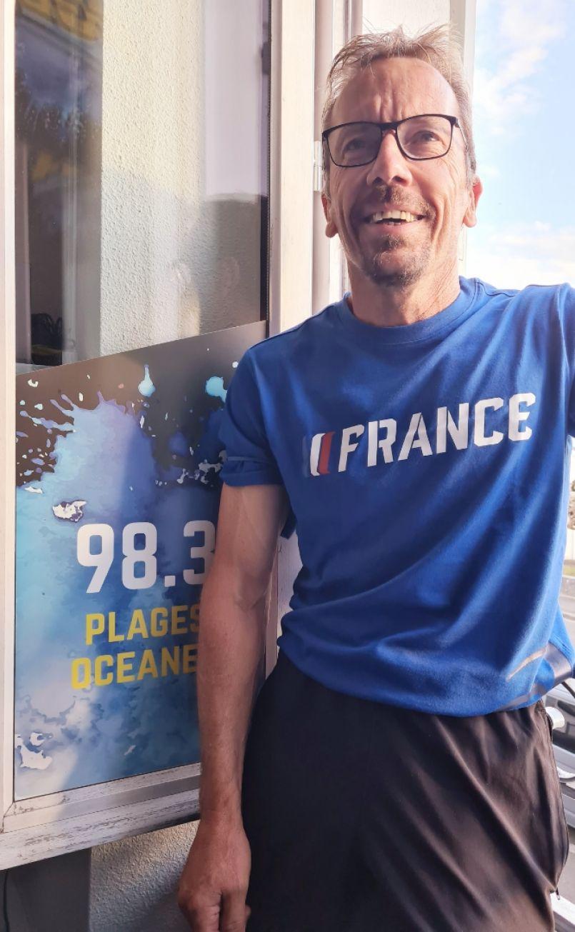 A 57 printemps, le Landais Hervé Piguet participe à son 1er Championnat de France de Marathon