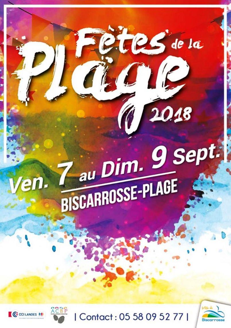 Fêtes de Biscarrosse-Plage, c'est parti avec FGL jusqu'à ce dimanche 9 septembre 2018