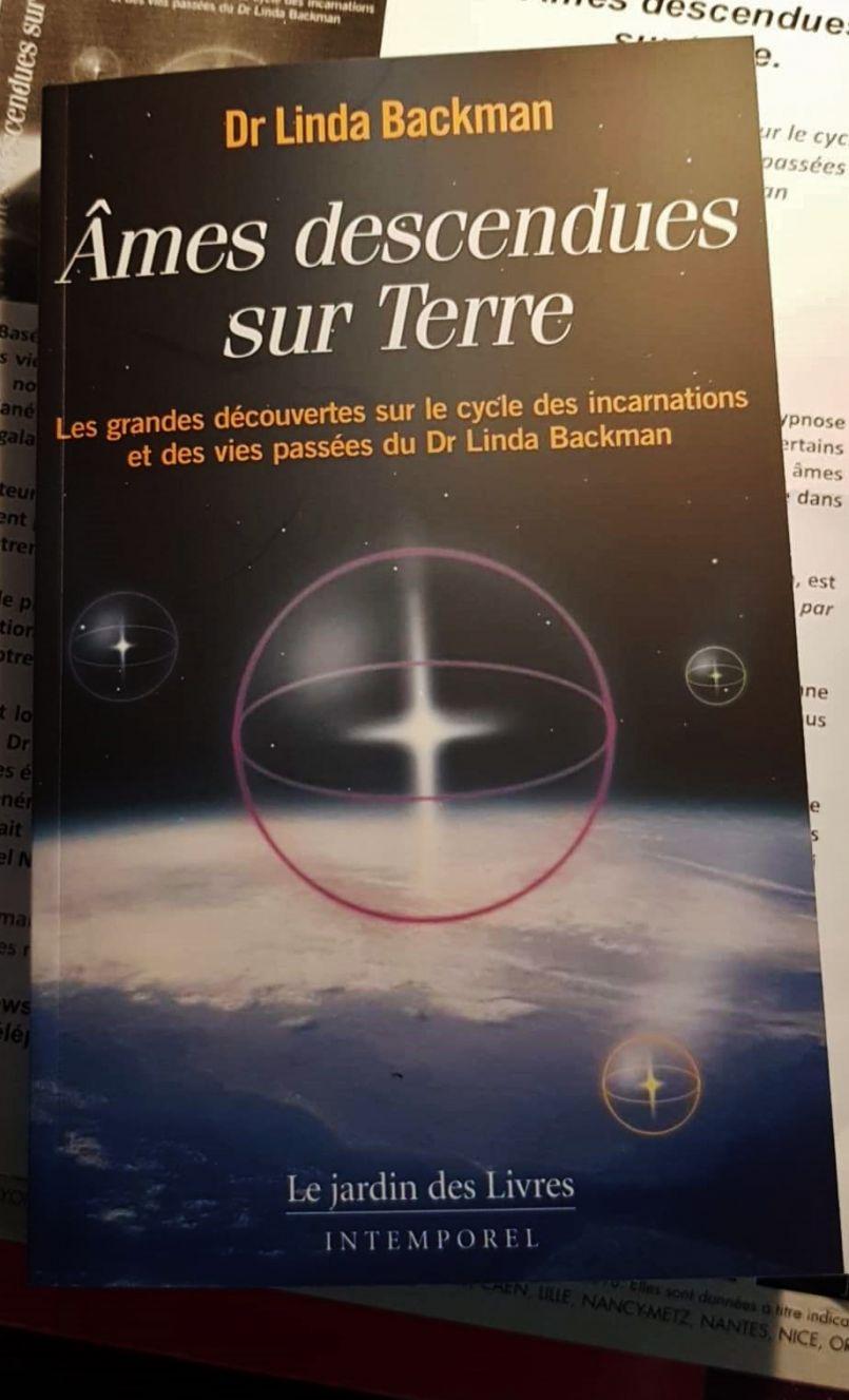 Sortie de l'ouvrage du Docteur Linda Backman : 'Âmes descendues sur Terre'