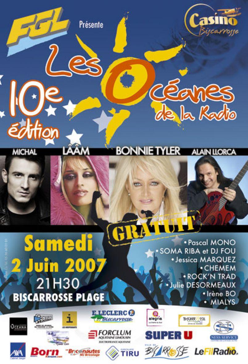 10ème Océanes de la Radio 2007