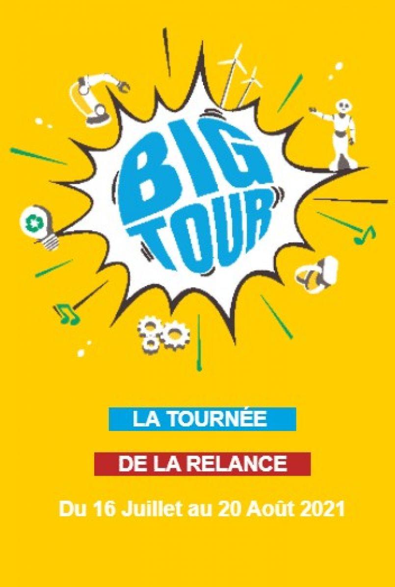 Le Big tour arrive à Biscarrosse, Patrice Begay, le directeur exécutif communication BPI France est l'invité de la rédaction