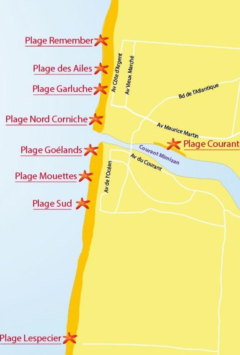 1ère 'Plage sans tabac' à Mimizan, plage du Courant nous a dit le maire Christian Plantier