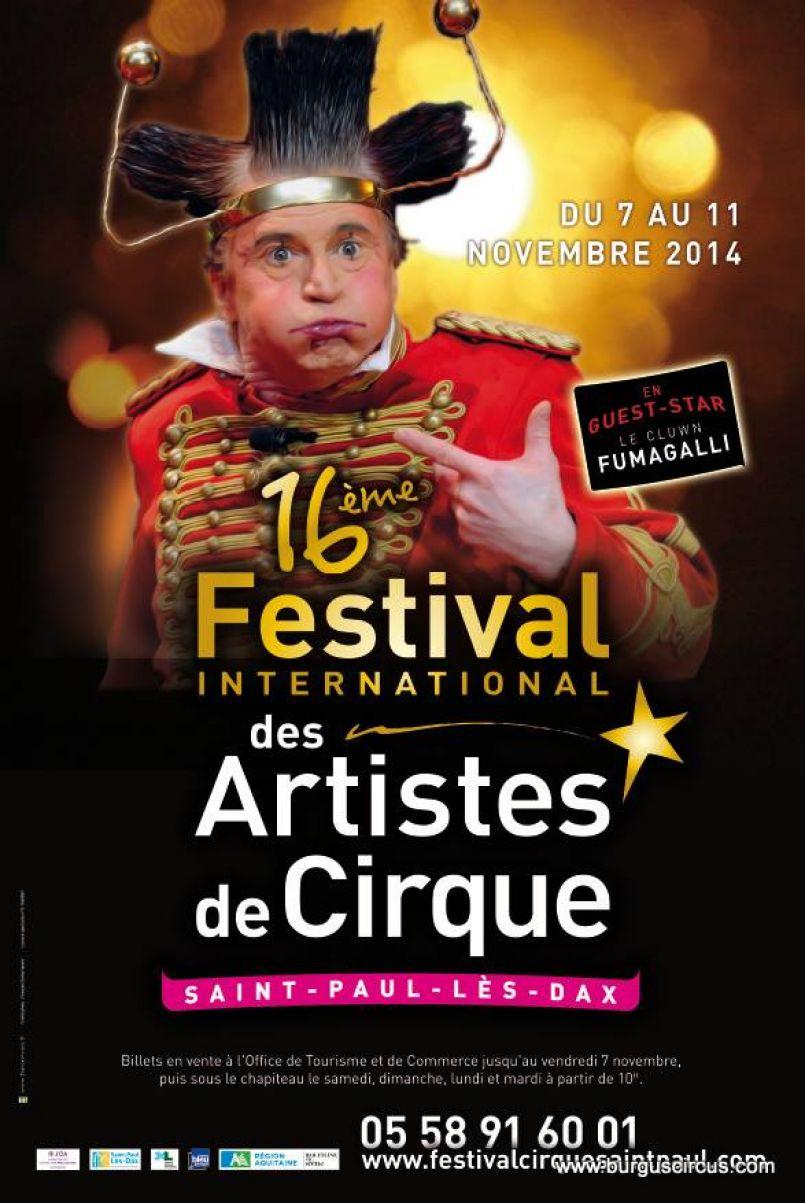 Fgl ou sortir 16e festival international des artistes de - Office du tourisme saint paul les dax ...
