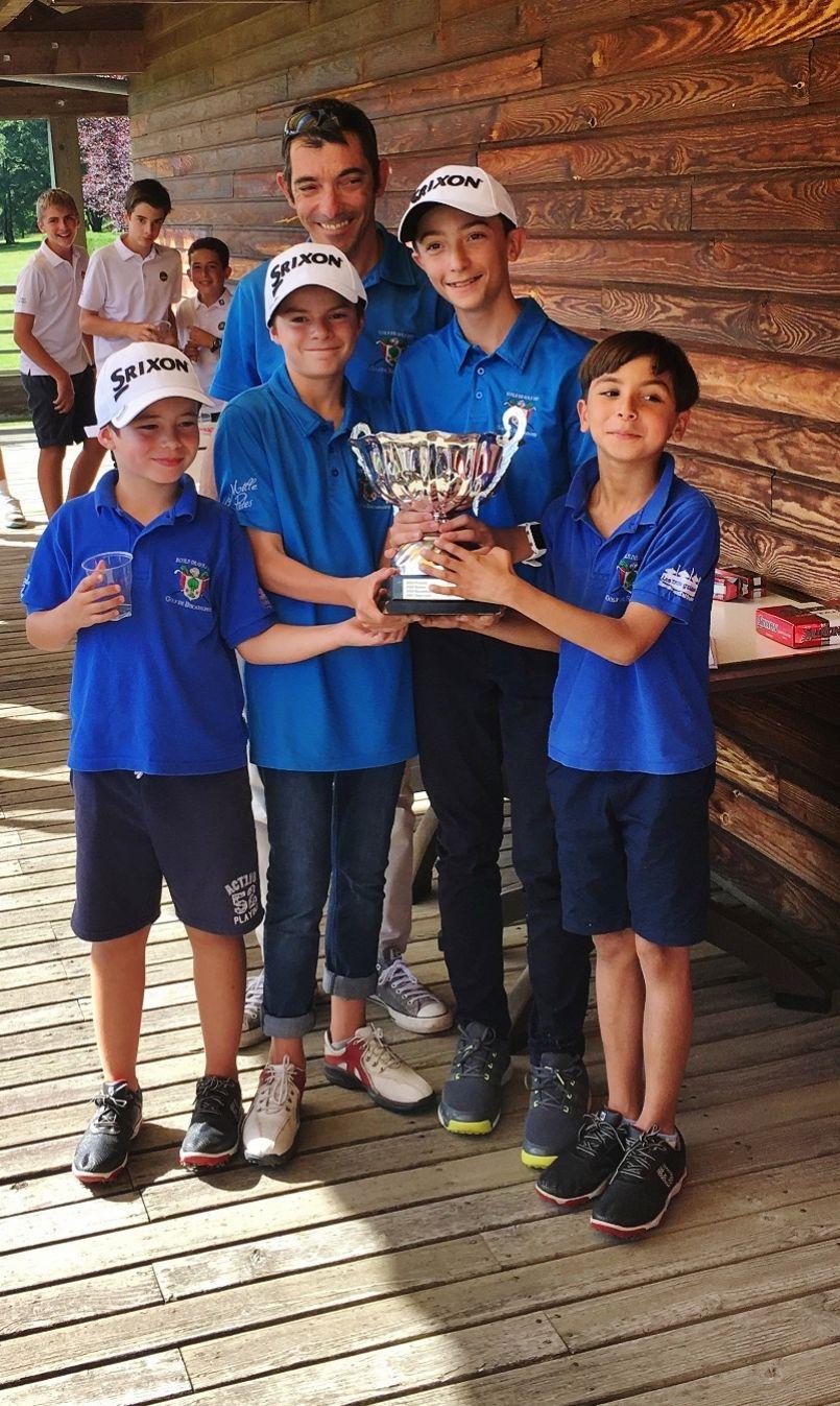 L'Ecole de Golf de Biscarrosse remporte le Challenge Descoubes 2017 !