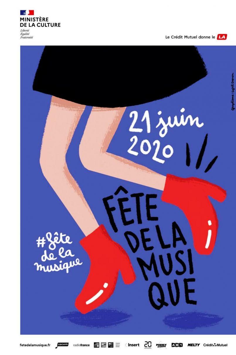 Fête de la musique 2020 dans les Landes : à St Paul lès Dax, celà se fera de vos balcons ou fenêtres