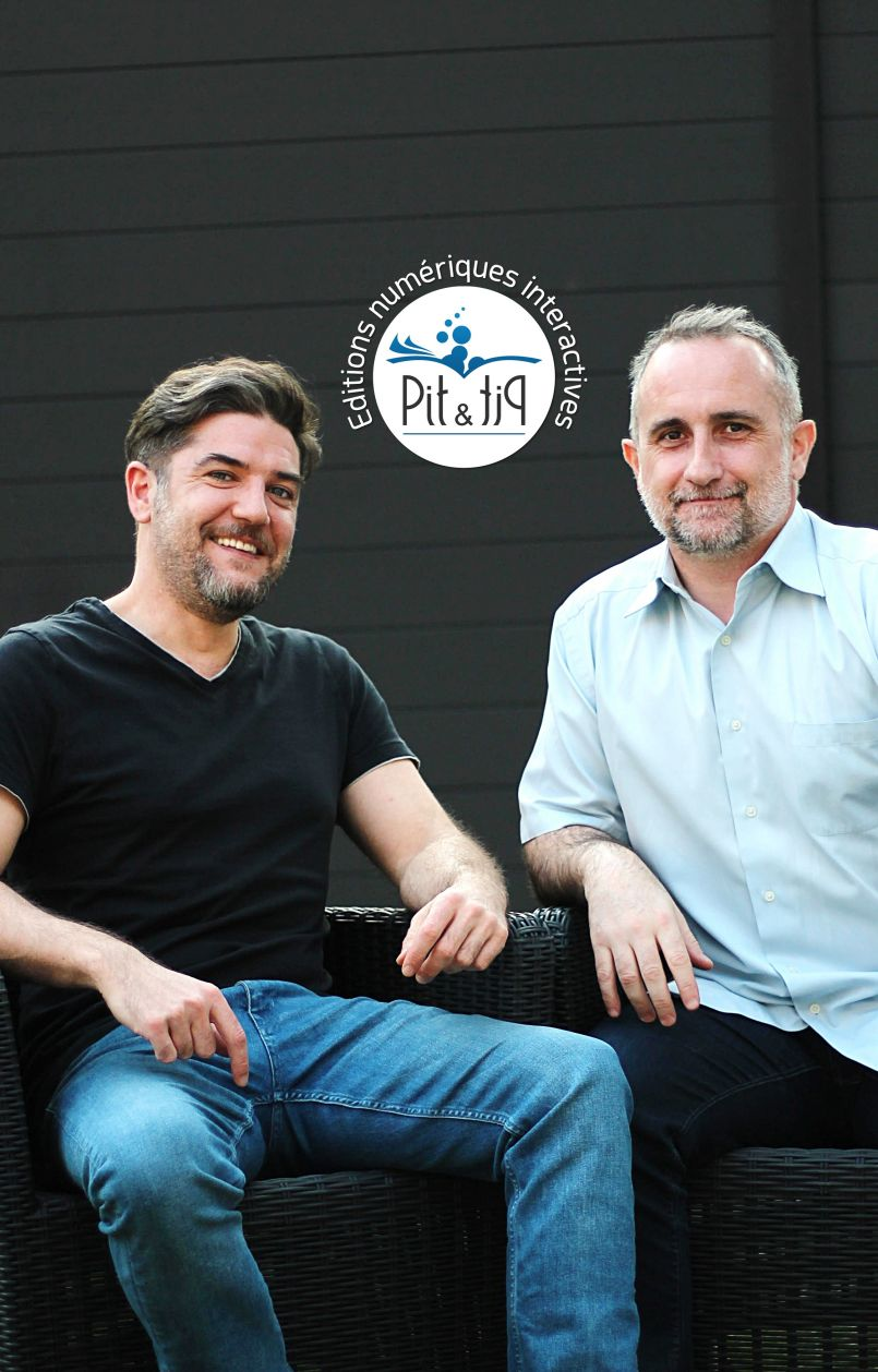 L'univers du livre numérique interactif selon Pit et Pit...